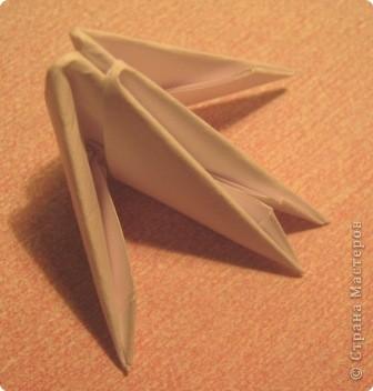 Мастер-класс Поделка изделие Оригами китайское модульное МК пингвин Бумага фото 3