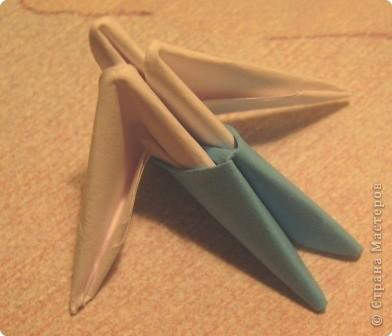 Мастер-класс Поделка изделие Оригами китайское модульное МК пингвин Бумага фото 4