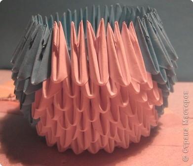 Мастер-класс Поделка изделие Оригами китайское модульное МК пингвин Бумага фото 11