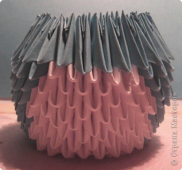 Мастер-класс Поделка изделие Оригами китайское модульное МК пингвин Бумага фото 12