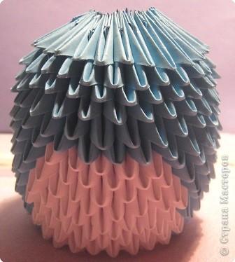 Мастер-класс Поделка изделие Оригами китайское модульное МК пингвин Бумага фото 13