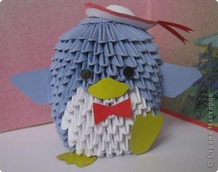 МК пингвин Бумага фото 1