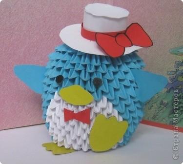 МК пингвин Бумага фото 22