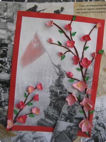 Вот такая стенгазета получилась ко Дню Победы. Все фото взяты из интернета и распечатаны на принтере. фото 2