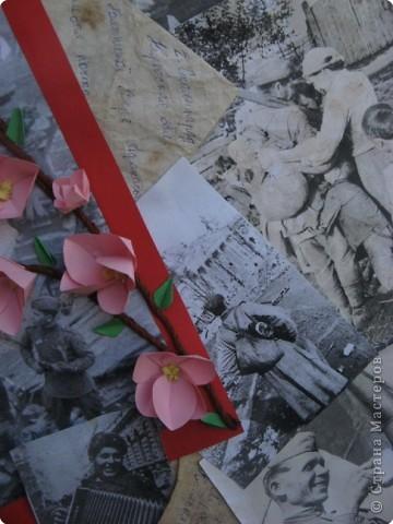 Вот такая стенгазета получилась ко Дню Победы. Все фото взяты из интернета и распечатаны на принтере. фото 6