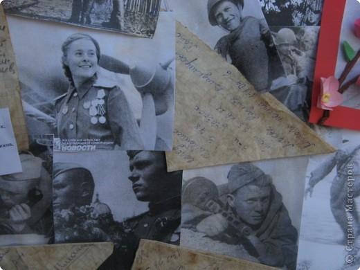 Вот такая стенгазета получилась ко Дню Победы. Все фото взяты из интернета и распечатаны на принтере. фото 9