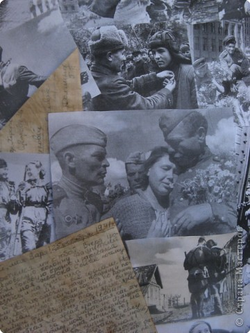 Вот такая стенгазета получилась ко Дню Победы. Все фото взяты из интернета и распечатаны на принтере. фото 10