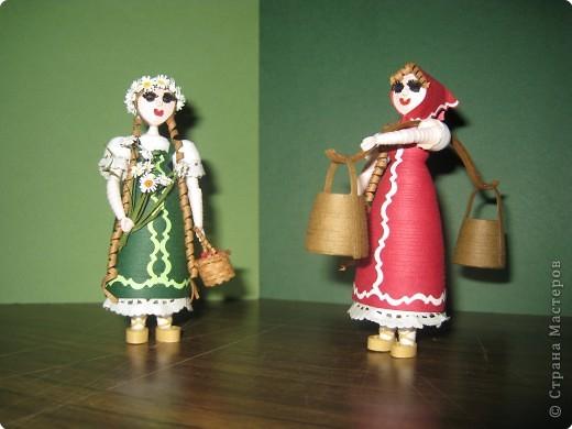 Объемные куклы из картона своими руками 12