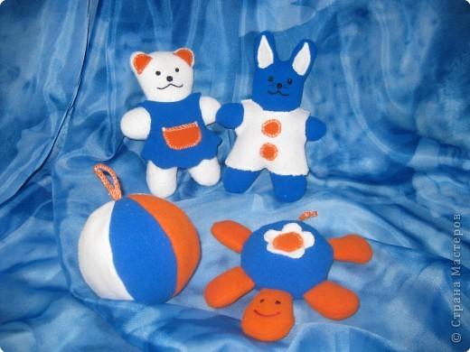 Мягкие игрушки для малышей. - мягкая игрушка,зверята,флис,синтепон