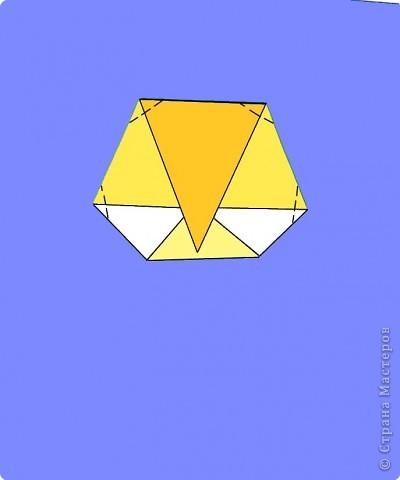 Оригами: Цыпленок. Пасха продолжается. фото 19
