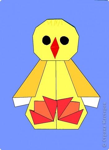 Оригами: Цыпленок. Пасха продолжается. фото 23