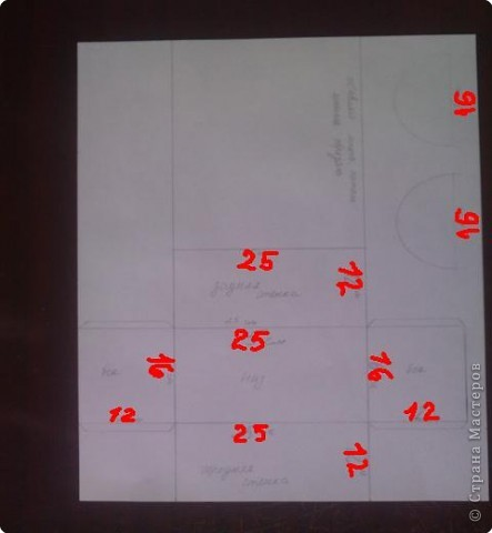 нужно: 2 ватмана форматом А1, офисная белая и розовая бумага, клей ПВА и карандаш, ножницы, циркуль. фото 3