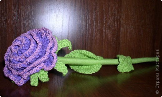 предлагаю вам сделать вот такую розу. фото 1
