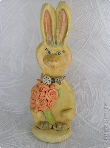 Поделка заяц