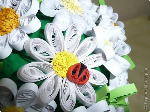 Этот шар сделан по идее цветочного шара у завитушки на конкурс, посвященный месячнику борьбе с туберкулезом фото 4