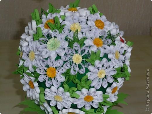 Этот шар сделан по идее цветочного шара у завитушки на конкурс, посвященный месячнику борьбе с туберкулезом фото 2