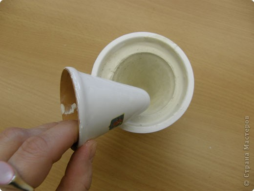 Сначала нужно сделать гипсовую форму для литья. Видела МК у Cvetovod, но я форму готовлю проще.  фото 4