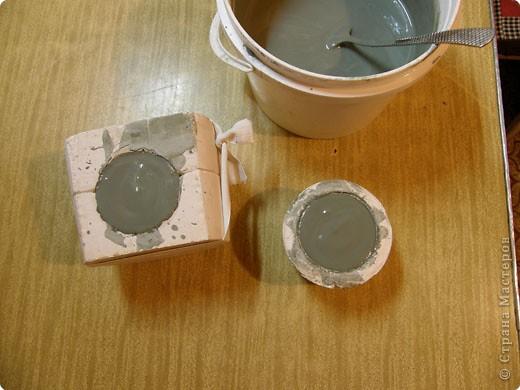 Сначала нужно сделать гипсовую форму для литья. Видела МК у Cvetovod, но я форму готовлю проще.  фото 9