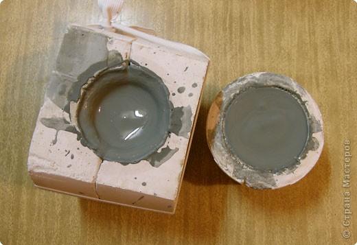 Сначала нужно сделать гипсовую форму для литья. Видела МК у Cvetovod, но я форму готовлю проще.  фото 10