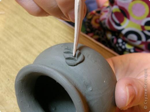 Сначала нужно сделать гипсовую форму для литья. Видела МК у Cvetovod, но я форму готовлю проще.  фото 17