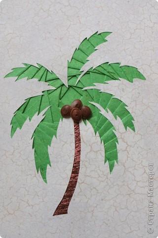 Пальма из бумаги своими руками пошагово для начинающих 27