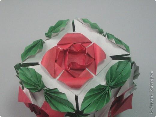Кусудама Оригами Плетистая