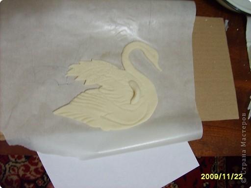 Как сделать лебедей и соленого теста