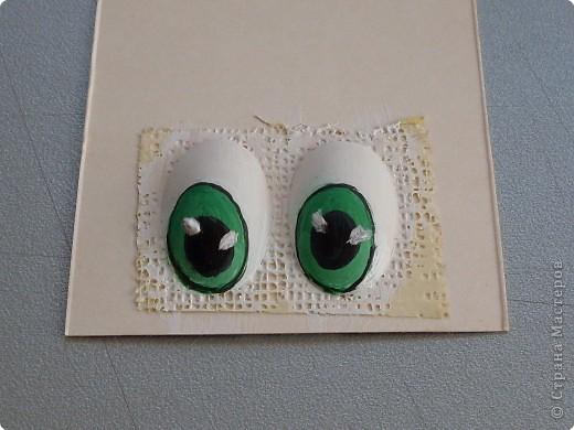 Мастер-класс Роспись Мультяшный взгляд Глазки   Материал бросовый фото 9