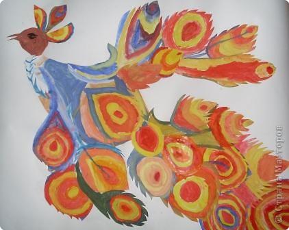 Рисование и живопись: Жар - птица. 2 класс. Урок изобразительного искусства.
