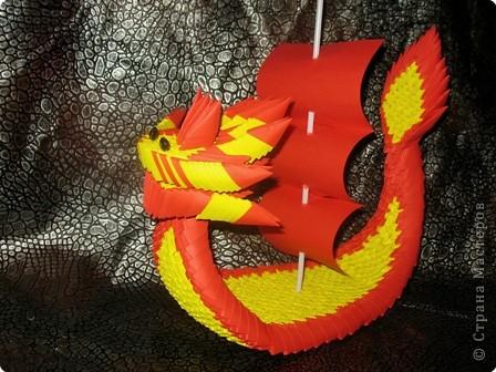 Оригами модульное: Лодка Дракона
