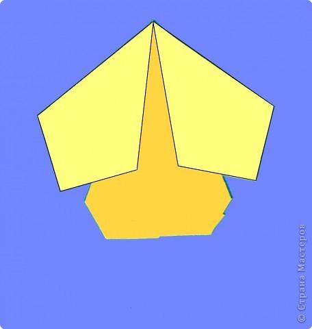 Оригами: Цыпленок. Пасха продолжается. фото 11