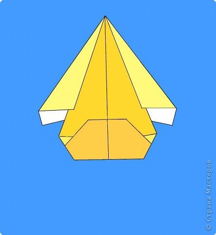 Оригами: Цыпленок. Пасха продолжается. фото 12