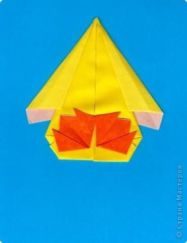 Оригами: Цыпленок. Пасха продолжается. фото 15