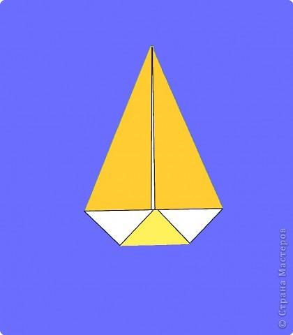 Оригами: Цыпленок. Пасха продолжается. фото 17