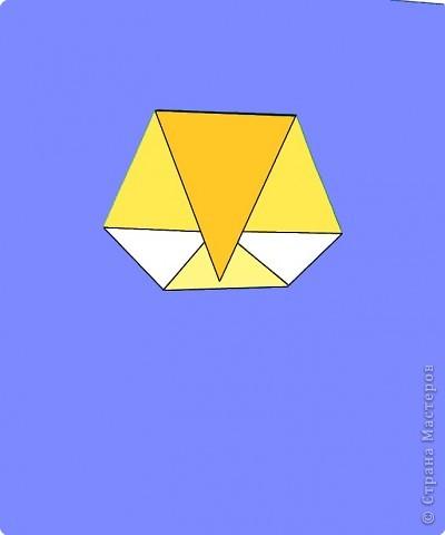 Оригами: Цыпленок. Пасха продолжается. фото 18