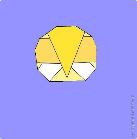 Оригами: Цыпленок. Пасха продолжается. фото 20