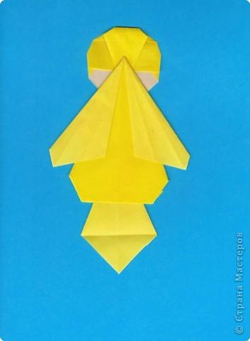 Оригами: Цыпленок. Пасха продолжается. фото 21
