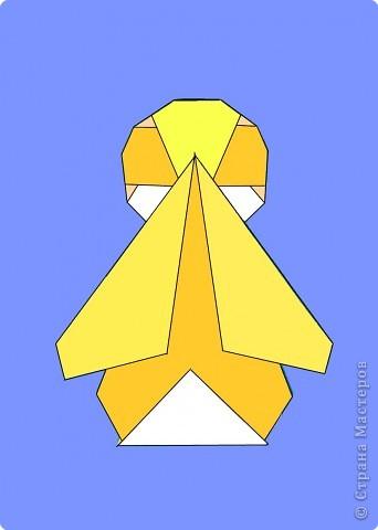 Оригами: Цыпленок. Пасха продолжается. фото 22