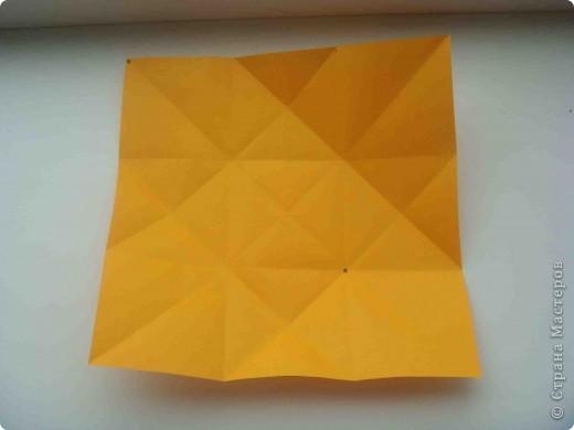 """Такую коробочку или кошелек с секретом я умела делать давно, но забыла. Благодаря энциклопедии """"Оригами"""" (автор Рик Бич), вспомнила.  Вот так выглядят готовые изделия. В чем секрет? Сначала сделаем кошелечек. фото 6"""