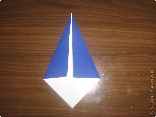 Мастер-класс Оригами Гномик-оригами МК Бумага фото 2