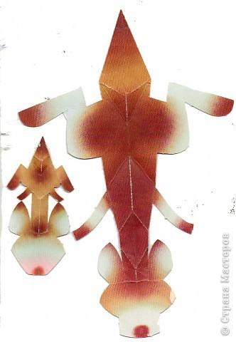 Поделка изделие Бумагопластика Бумажный зоопарк СХЕМЫ Бумага фото 7.