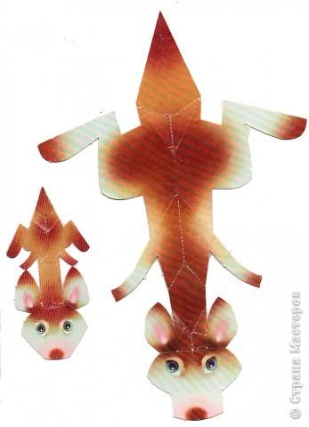 Поделка изделие Бумагопластика Бумажный зоопарк СХЕМЫ Бумага фото 8.