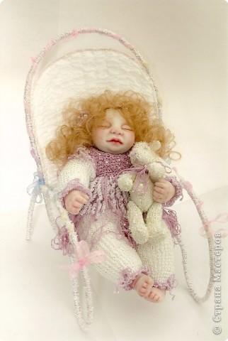 Авторские куклы из полимерной глины.