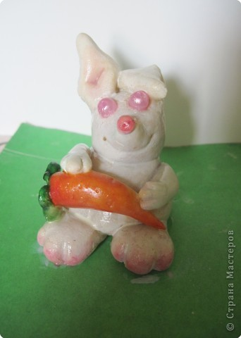 """""""Мега Кроль Альбинос"""".  Сделан первоклашкой Викой по образу и подобию """"кроликов, которые прыгают на крышу"""".   фото 1"""