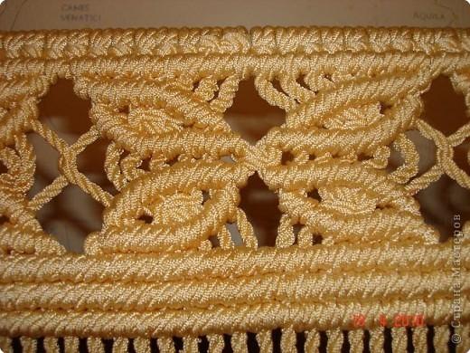 Наконец-то собралась выложить свою шторку. Плетётся она очень просто, а выглядит очень нарядно. фото 6