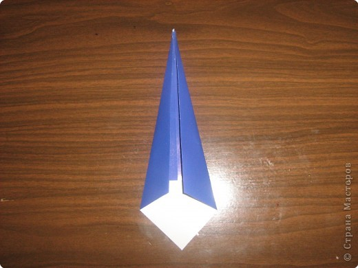 Мастер-класс Оригами Гномик-оригами МК Бумага фото 3