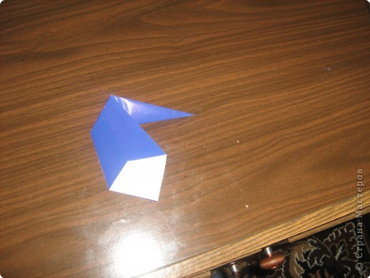 Мастер-класс Оригами Гномик-оригами МК Бумага фото 4