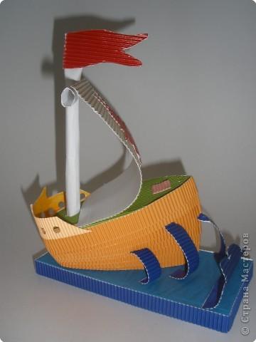 """Мой образец. """"Корабль"""" (вид спереди) фото 2"""