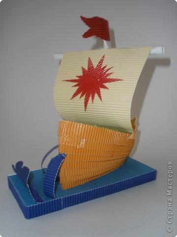 """Мой образец. """"Корабль"""" (вид спереди) фото 3"""