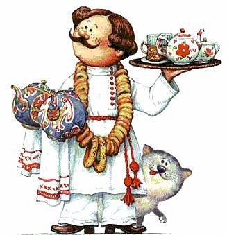 Картина панно рисунок Мастер-класс День рождения Лепка Повар с баранками и чаем Тесто соленое фото 3